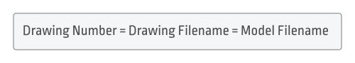 Drawing Numer = Filename